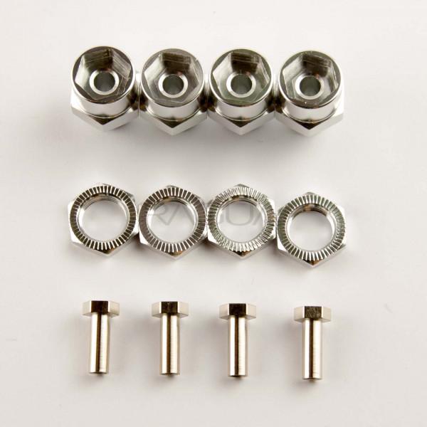 Wheel spacer 15mm / 12mm-17mm adapter