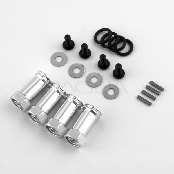 Wheel spacer 25mm for 1:10