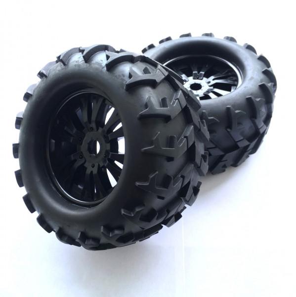 BigFoot Räder 17mm 150mm Schwarz